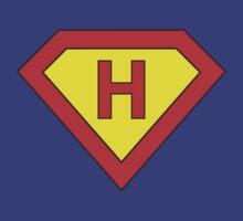 Superman alphabet letter by Stock Image Folio