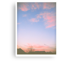 Dusty Sky Canvas Print