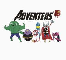 Aventers (Adventure time Avengers) by seankumar