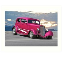 1933 Ford Victoria 'Vicky' Art Print