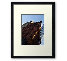 A Slice of Sunshine - Manhattan's Potter Building at Sunrise Framed Print