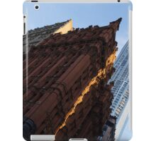 A Slice of Sunshine - Manhattan's Potter Building at Sunrise iPad Case/Skin
