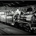 City of Melbourne Steam Train #1 by bekyimage