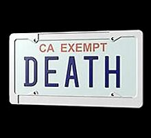 Death Grips - Government Plates by ALLCAPS