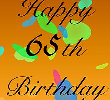 Happy Birthday 65th today by starprice
