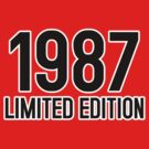 1987 LIMITED EDITION by mcdba