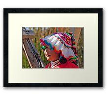 Little Darling Framed Print