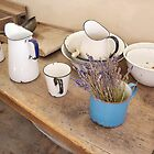 Old Kitchen Utensils by Carol Bleasdale