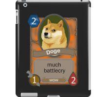 Doge hearthstone iPad Case/Skin