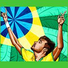 Neymar by Adam Campbell