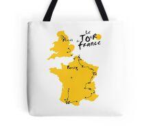 Le Tour de France 2014 Tote Bag