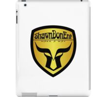 ShawnDonEnt Logo iPad Case/Skin