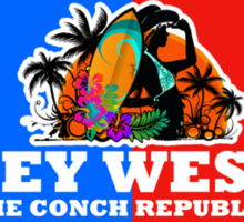 Key West Fl. Sticker