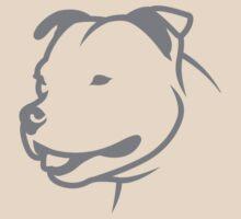 Staffbull v2 Staffordshire Bullterrier HEAD only by bullylove