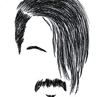 Anthony Kiedis by rincondelabarba