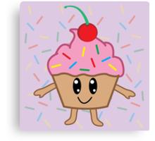 A Cute Little Cupcake Canvas Print