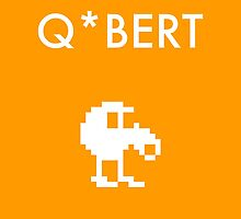 Q*bert (Poster) by WCGross