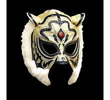 Tiger Mask Vector Photographic Print