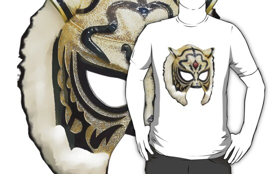 Tiger Mask Vector by TruthtoFiction