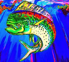 King Mahi-Mahi by Larry Beat