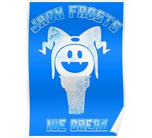 Jack Frosts Ice Cream Poster