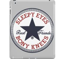 Real Friends Band iPad Case/Skin