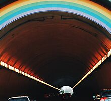 Rainbow tunnel by Santamariaa