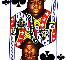 Biggie is the King of Clubs by tshirtfreak