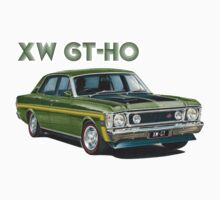 XW GT HO Ford Falcon in reef green by UncleHenry