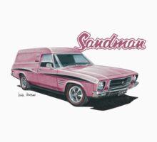 Holden HQ Sandman Panel Van design by UncleHenry