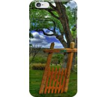The Crooked Gate iPhone Case/Skin