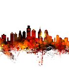 Philadelphia Pennsylvania Skyline by ArtPrints