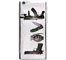 'LOVE' GUNS  iPhone Case/Skin