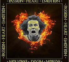 David Luiz - Passion ~ Heart ~ Emotion by aketton