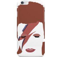 David Bowie - Aladdin Sane Minimal iPhone Case/Skin