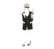 Patsy (Absolutely Fabulous) - Minimalist Image by Posteritty