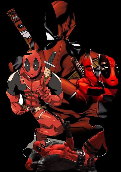 Deadpool Mash-up by PMckennaDesigns
