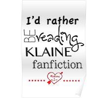 Klaine Fanfiction Poster