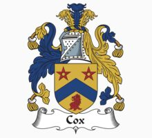 Cox Coat of Arms / Cox Family Crest by ScotlandForever