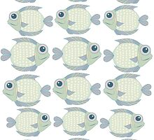 School Of Cool Fish by Jean Gregory  Evans