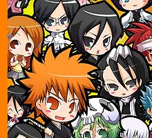 chibi bleach! by lolly-pop