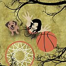 Basket ball player by franzi