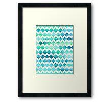 Ocean Rhythms and Mermaids Tails Framed Print