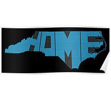 North Carolina Home State Poster
