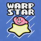 Kirby Warp Star by likelikes