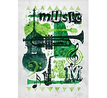 Music Jam Photographic Print