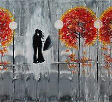 Autumn Rain Romance by Amber Elizabeth Lamoreaux