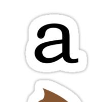 UR A POOP Sticker