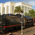 City of Melbourne Steam Train #6 by bekyimage