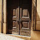 Old Door of Lisbon by Lucinda Walter